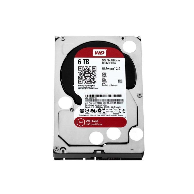 HD INTERNO 6TB WESTERN DIGITAL RED SATAIII 64MB WD60EFAX