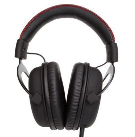 HEADSET GAMER HYPERX CLOUD PRETO KHX-H3CL/WR