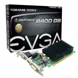 PLACA DE VIDEO EVGA GEFORCE 8400GS 1GB DDR3 64 BITS DVI/HDMI/VGA - PCIE 2.0 - 01G-P3-1303-KR