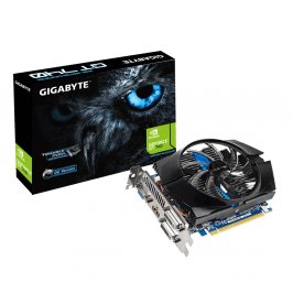 PLACA DE VIDEO GIGABYTE GEFORCE GT 740 2GB DDR5 128 BITS VGA/DVI /HDMI - PCIE 3.0 - GV-N740D5OC-2GI