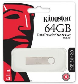 PEN DRIVE USB 3.0 64GB DTSE9G2 METAL KINGSTON