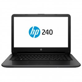 "NOTEBOOK HP 240G4 INTEL CORE I3 5005U 4GB 500GB 14"" WINDOWS 10 SL PRETO"