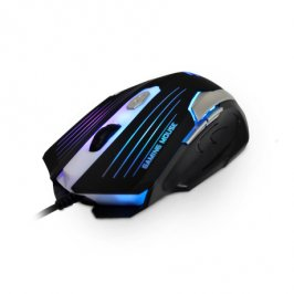 MOUSE OPTICO GAMER USB MG-11BSI PRETO/PRATA C3TECH