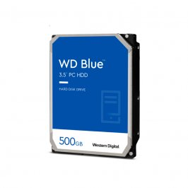 HD INTERNO 500GB WESTERN DIGITAL BLUE SATAIII 7200RPM 16MB WD5000AZLX
