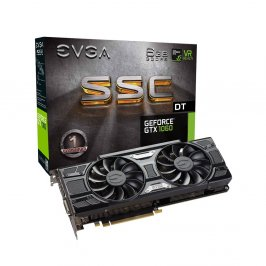 PLACA DE VIDEO EVGA GEFORCE GTX 1060 6GB GDDR5 192BITS DVI/HDMI/DP*3 - PCIE 3.0 - 06G-P4-6265-KR - SSC DT ACX 3.0