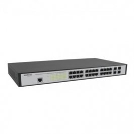 SWITCH INTELBRAS 24 PTS GIGABIT +4 MINI - GBIC SG 2404 MR