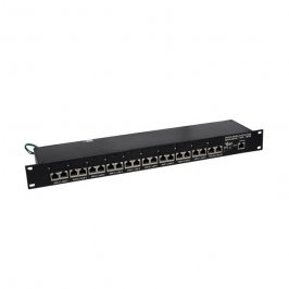PATCH PANEL 10 PORTAS EVOLUTION 24V RJ 45 BLINDADO VOLT