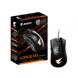 MOUSE OPTICO USB GAMER AORUS M3 PRETO GIGABYTE