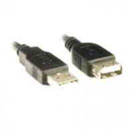 CABO EXTENS USB MACHOxFEMEA 3MTS PRETO PLUS CABLE