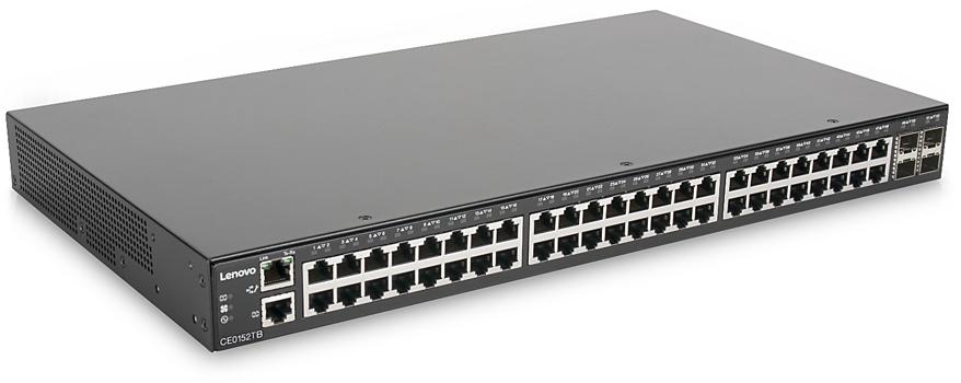 LENOVO SWITCH CCE0152TB 48X10-100-1000 BASET 4X10GB SFP PLUS LIFETIME 7Z370021WW