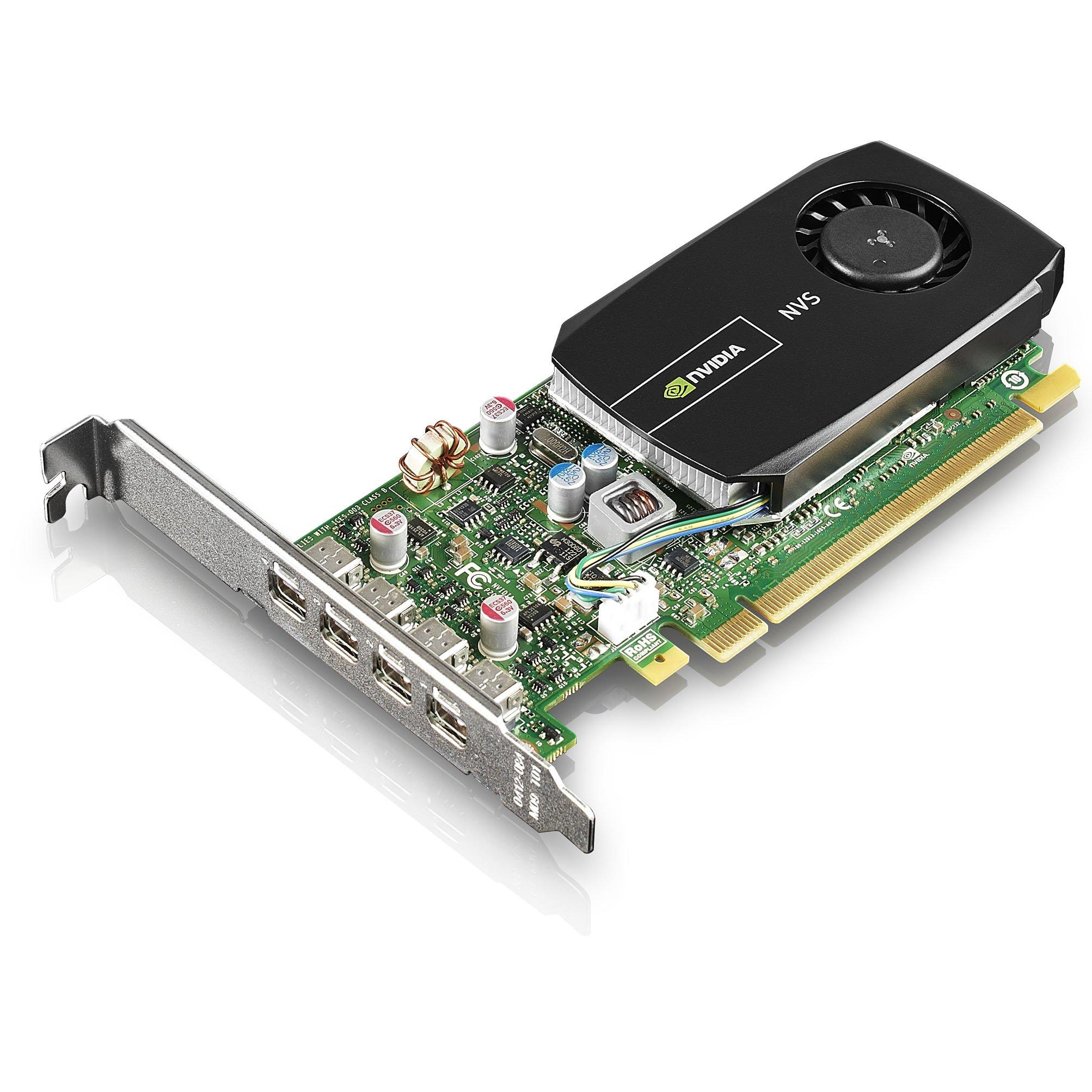 PLACA DE VIDEO LENOVO NVIDIA NVS 510 2GB DDR3 128 BITS 4X MINI DISPLAY PORT PCIE 2.0 (FH/LP) 0B47077