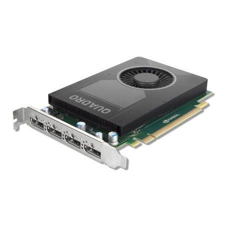 PLACA DE VIDEO LENOVO NVIDIA QUADRO M2000 4GB GDDR5 - 128 BITS 4X DISPLAY PORT PCIE 3.0 (FH)