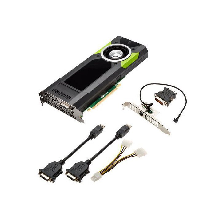 PLACA DE VIDEO LENOVO NVIDIA QUADRO M5000 8GB GDDR5 - 256 BITS DVI, 4X DISPLAY PORT PCIE (FH)