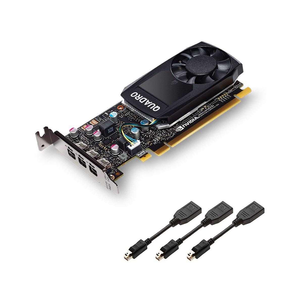 PLACA DE VIDEO LENOVO NVIDIA QUADRO P400 2GB GDDR5 64 BITS 3X MINI DISPLAY PORT PCIE 3.0 LP