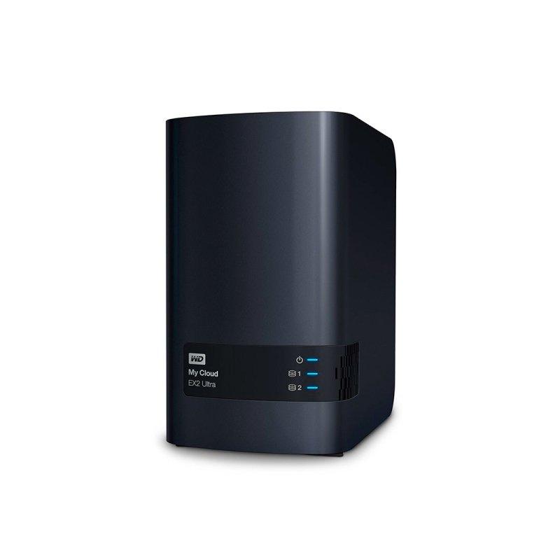 STORAGE MY CLOUD EX2 ULTRA WD ATE 2 DISCOS RIGIDOS (NAO INCLUSOS) INTERFACE USB 3.0 E GIGABIT ETHERNET - WDBVBZ0000NCH-L