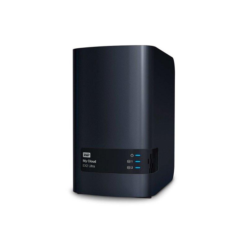 STORAGE MY CLOUD EX2 ULTRA WD ATE 2 DISCOS RIGIDOS (NAO INCLUSOS) INTERFACE USB 3.0 E GIGABIT ETHERNET - WDBVBZ0000NCH