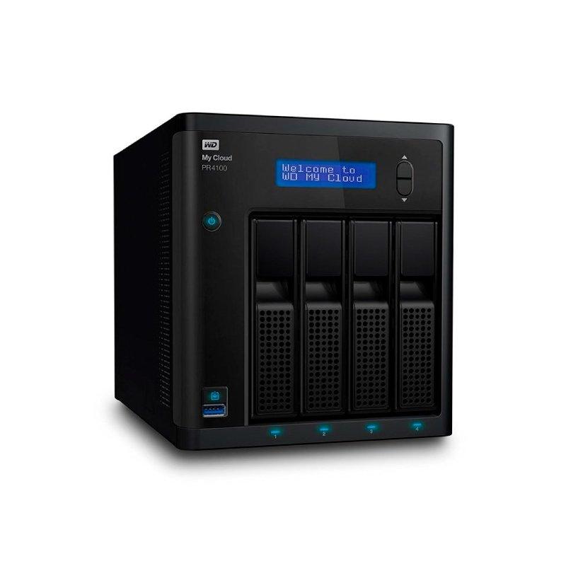 STORAGE MY CLOUD PR4100 WD ATÉ 4 DISCOS RIGIDOS (NAO INCLUSOS) INTERFACE USB 3.0 E GIGABIT ETHERNET - WDBNFA0000NBK