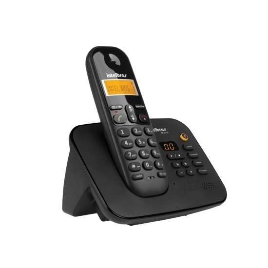 TELEFONE INTELBRAS SEM FIO TS 3130 PRETO