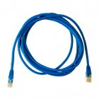 CABO DE REDE PATCH CORD CAT.6 ETHERNET PC-ETH6E3001 RJ45 3MTS AZUL PLUS CABLE