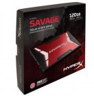 SSD 120GB HYPERX SAVAGE SATA 3 2.5 7MM C/ADAPT 9,5MM SHSS37A/120G