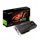 PLACA DE VIDEO GIGABYTE GEFORCE GTX 1080 TURBO OC 8GB GDDR5X 256 BITS DVI/HDMI/DP*3 - GV-N1080TTOC-8GD