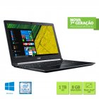 NOTEBOOK ACER A515-51-56K6 INTEL CORE I5 7200U 8GB 1TB 15,6 WINDOWS 10 HOME PRETO