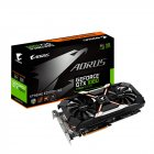 PLACA DE VIDEO GIGABYTE AORUS GEFORCE GTX 1060 6GB GDDR5 192 BITS DVI/HDMI/DP - GV-N1060AORUSX-6GD