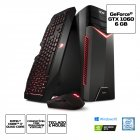 COMPUTADOR ACER GAMER TORRE ASPIRE GX-783-BR13 CORE I7 7700 16GB(2X8GB) 1TB(8GB SSD) GEFORCE GTX 1060 6GB WINDOWS 10 HOM