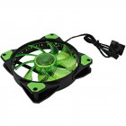 COOLER PARA GABINETE 120MM GMX-GF12G VERDE GAMEMAX