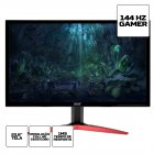 MONITOR ACER GAMER 23.6 LED FULL HD KG241Q / 2XHDMI / 1XDISPLAT PORT / VESA / 144HZ