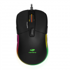 MOUSE ÓPTICO USB GAMER QUETZAL MG-510BK PRETO C3TECH