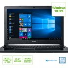 NOTEBOOK ACER A515-51-C2TQ INTEL CORE I7 8550U 8GB(2X4GB) 1TB 15,6 WINDOWS 10 PRO PRETO