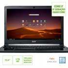 NOTEBOOK ACER A515-51-C0ZG INTEL CORE I7 8550U 8GB(2X4GB) 1TB 15,6 ENDLESS OS (LINUX) CINZA ESCURO