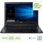 NOTEBOOK ACER A315-53-C5X2 INTEL CORE I5 8250U 8GB(2X4GB) 1TB 15,6 WINDOWS 10 HOME PRETO