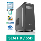 COMPUTADOR COMPUSONIC (I3 8100 / H310 / 8GB DDR4 / D-LESS / 300W)