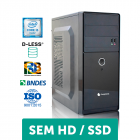 COMPUTADOR COMPUSONIC (I5 2400 / H61 / 4GB DDR3 / D-LESS / 300W) - BONUS HD 320GB