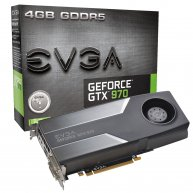 PLACA DE VIDEO EVGA GEFORCE GTX 970 4GB DDR5 256 BITS DVI/HDMI/DP - PCIE 3.0 - 04G-P4-1970-KT